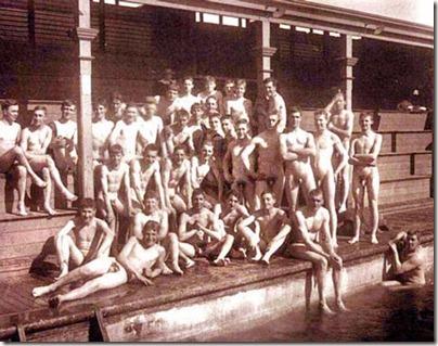 from Princeton nude school swim class